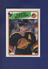 Garth Butcher RC 1988-89 O-PEE-CHEE Hockey #202 (MINT)