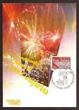 Italia 1999 : Fuochi d'Artificio - Cartolina Ufficiale Poste Italiane
