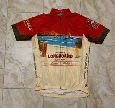 Canari Kona Brewing Co. Longboard Island Lager Cycling Jersey Size Men's Medium