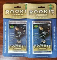 2005-06 Upper Deck 'Rookie Update' hockey 2pk lots Crosby Ovechkin RC?