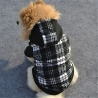 Pet Dog Hoodie Coat Jacket Puppy Cat Winter Warm Hooded Costume Apparel Gift CA
