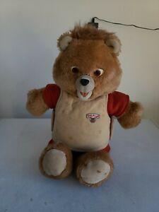 Vintage TEDDY RUXPIN Worlds of Wonder Bear 1985