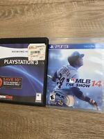 Sony Play Station 3 Lot Of 2 Games- Socom 4 & MLB 14 The Show