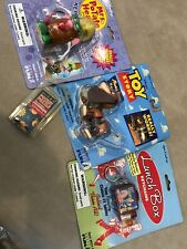 Lot of 4 Collectible Game Toy Keychain Mr Potato Head Lunch Box Toy Story Puzzle