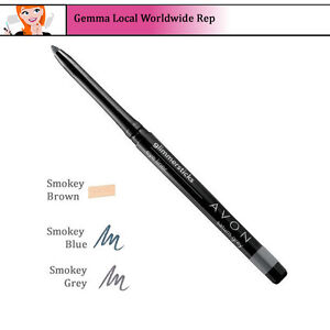 Avon True Glimmerstick Eyeliner Eye Liner Retractable Clearance Shades (RRP £6)