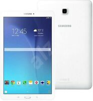 """BRAND New Samsung Galaxy Tab E SM T560 8GB Wi-Fi 9.6"""" Inch WHITE Android Tablet"""