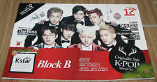 WINNYKSTAR WINNY KSTAR BLOCK B THE BOSS 9MUSES K-POP MAGAZINE 2013 DEC DECEMBER
