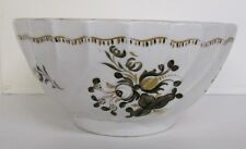 Attr. Worcester Barr English 1790's Early Antique Spiral Fluted Bowl Rare Find