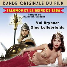 CD Salomon et la reine de Saba (Solomon and Sheba) - Mario Nascimbene - BOF OST