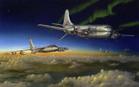 """Meeting of the Strats"" Don Feight SAC Bomber Wing Aircraft Print"