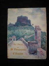 Au Pays de St François d'Assise - G. FAURE - REY 1924