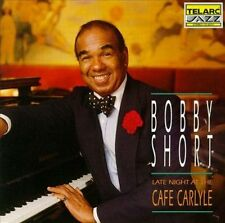 Late Night at the Cafe Carlyle by Bobby Short (CD, 1992, Telarc Distribution) NM
