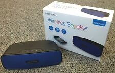 Memorex MW212 Bluetooth Wireless 2.1 Speaker iPod, iPhone, Android. (BLUE)