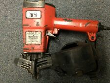USED HILTI RFC134B COIL ROOF NAILER - FOR PARTS ONLY -NOT WORKING