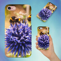 ANIMAL BEES BLOOMING 1 HARD BACK CASE FOR APPLE IPHONE PHONE