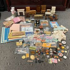 DOLL HOUSE FURNITURE AND ACCESSORIES LOT
