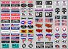 PRE-CUT 1/10 scale TRUMP RC decal sticker sheet Axial Traxxas TRX-4