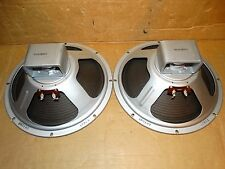 """2 x 12"""" Vintage Rola Instrument Speakers  *Tested*8 ohm*Matching Codes =1961"""