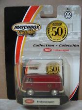 2002 MATCHBOX 50TH ANNIVERSARY COLLECTION   1967 VOLKSWAGEN VW PANEL VAN