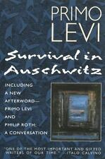 Survival in Auschwitz by Levi (Paperback)