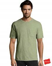 Hanes Men's FreshIQ® ComfortSoft® Dyed Assorted Colors Pocket T-Shirt  4-Pack