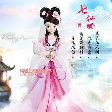 Pretty China Ancient Woman Weaver Fairy Of Kurhn Chinese Barbie Doll Figure Toy