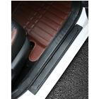 5d 4x Carbon Fiber Parts Accessories Vinyl Car Door Sill Scuff Sticker Protector