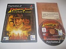 Indiana Jones and the Emperors Tomb ~ PAL PlayStation 2 ~ VGC, COMPLETE & TESTED