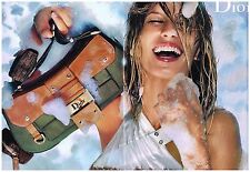 Publicité Advertising 2002 (2 pages) Haute Couture Sac à main Christian Dior