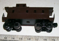 VERY RARE SCARCE Vintage Lionel Postwar 6067 Brown Unlettered Caboose w End Rail