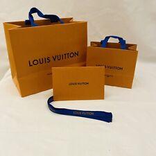 Authentic Louis Vuitton Retail Gift Bags.