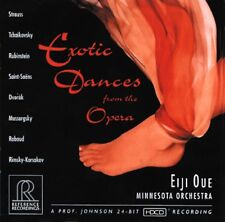 EXOTIC DANCES FROM THE OPERA - OUE - HDCD - REFERENCE RECORDINGS  RR 71-CD