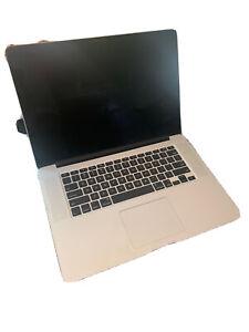 "Apple MacBook Pro 15"" Retina 2.4 GHz i7 8GB RAM. NO HARD DRIVE - PLEASE READ"