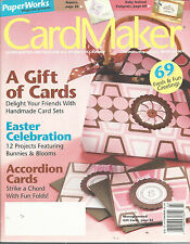 CardMaker Magazine March 2007 Vol 3 #2 Easter Accordion Cards Card Making