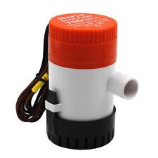 Bateau de pompe de cale de 12v 750 gph 2.5a / pompe à eau électrique