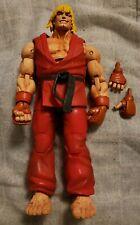 NECA Ken Street Fighter Action Figure W/Extra Hands Loose Rare HTF