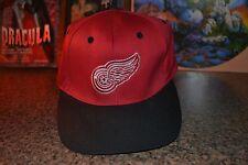 Detroit Red Wings Lightware Fiber Optics Light Up Logo Hat Cap Snapback Logo 7