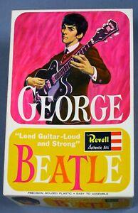 Beatles- George Harrison Revell Model Kit-Compete Nr. Mint Boxed-1964