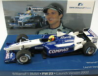 MINICHAMPS - F1 WILLIAMS BMW FW 23 - Launch Version 2002 - 1:43 - Formel 1