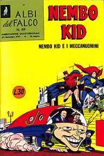 [872] ALBI DEL FALCO NEMBO KID ed. Mondadori 1957 Ristampa n.  89 stato Edicola