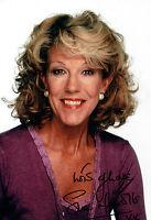 Sue NICHOLLS Audrey ROBERTS SIGNED Autograph Photo AFTAL COA Coronation Street
