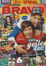 BRAVO 11/09.03.2011 Poster GLEE + BIG TIME RUSH + LADY GAGA HEFT KOMPLETT