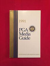 1991 PGA Tour media guide / Couples / Daly / Faldo / Norman / Stewart