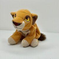 "Disney The Lion King Simba Young Cub 10"" Beanie Bean Bag Plush Stuffed Animal"