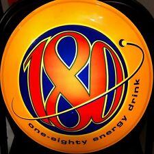 Vintage 2001 180 Energy Drink LED Bar Light Beer Sign Monster Rockstar Budweiser