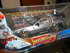 SUN2714 by SUN STAR DELOREAN BACK TO THE FUTURE PART III VERSIONE ROTAIE 1:18