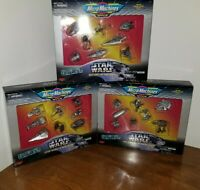 Micro Machines Space Star Wars Trilogy Ltd. Edition (Lot of 3 Sets) Galoob 1995
