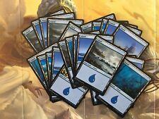 MTG X25 Island Land Cards -New- Magic the Gathering