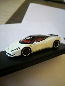 1/43 Aims Ferrari 458 NOVITEC ROSSO , Rare : 1 of 49, no bbr looksmart makeup