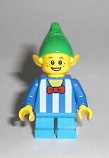 LEGO City - Weihnachts Elf 4 - Figur Minifig Santa Holiday Elb Weihnachten 10245
